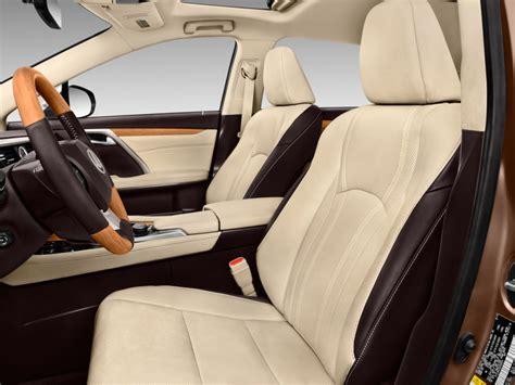 lexus rx 2016 interior back seat image 2016 lexus rx 350 fwd 4 door front seats size