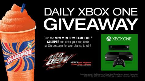 Doritos Xbox One Giveaway - 7 11 s slurpee xbox one giveaway alistdaily
