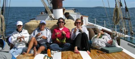 knitting cruise maine knitting cruises schooner j e riggin maine