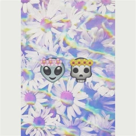 emoji skull wallpaper tumblr alien emoji quotes