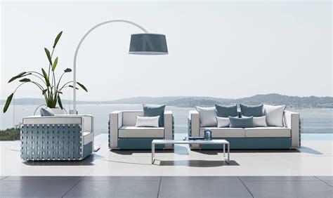 divani per esterno vivereverde divano 2 posti lilycollection fabric