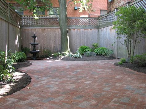 courtyard designs wikworks inc boston courtyard landscape design project