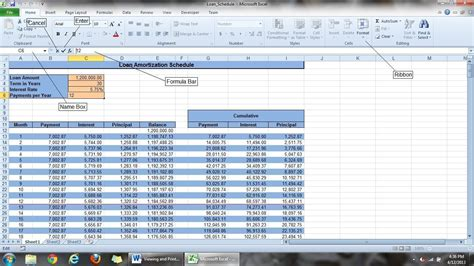 Excel Worksheet by The Many Ways Of Viewing An Excel Worksheet