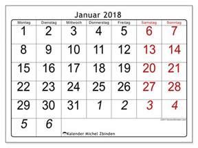 Januar 2018 Kalender Kalender Zum Ausdrucken Januar 2018 Deutschland