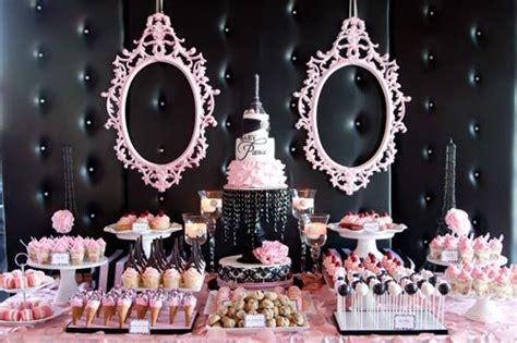 luxury baby shower ideas luxury pink white theme baby shower dessert