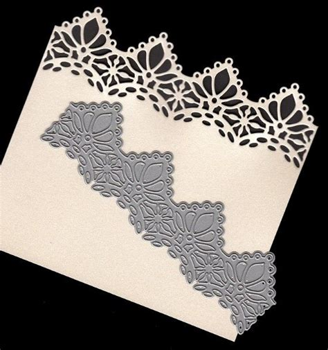 lace craft paper joanna sheen signature die harriet lace edger sd191