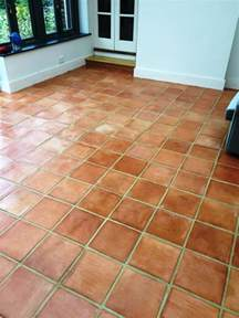 stained terracotta conservatory tiles rejuvenated in