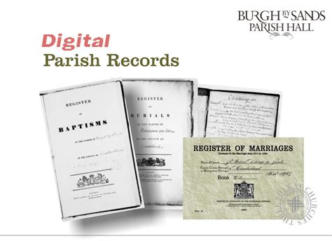 Parish Records Parish Records Burgh By Sands Parish And