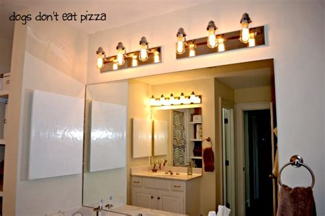 Update Bathroom Lighting How To Update Bathroom Lighting It S As Easy As Changing A Lightbulb The Diy Bungalow