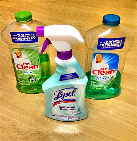 mr clean lysol kitchen cleaners the modern