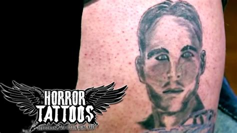 paul walker tattoos horror tattoos paul walker fan sixx