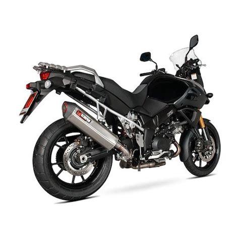 Suzuki V Strom Exhaust Scorpion Serket Parallel Slip On Exhaust Suzuki V Strom