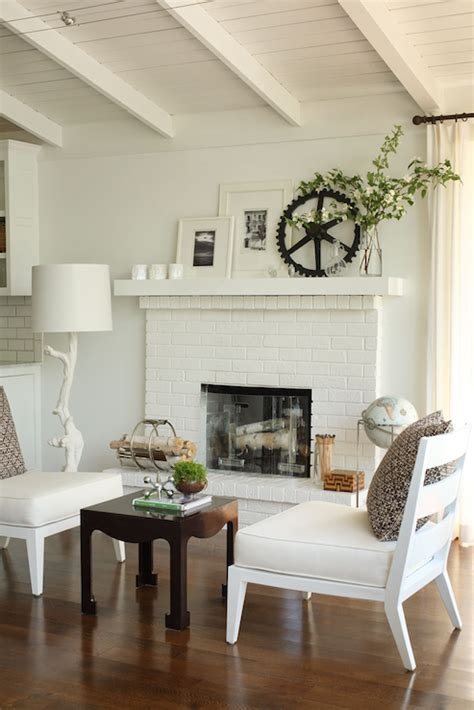 floor charcoal brick fireplace painted brick fireplace design ideas