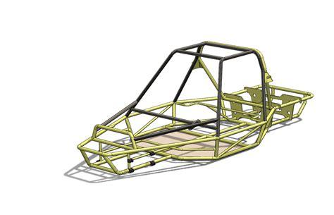 design buggy frame dune buggy frame stl solidworks step iges 3d cad