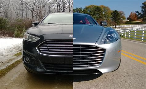 aston martin grill five ways the ford fusion is better than the aston martin
