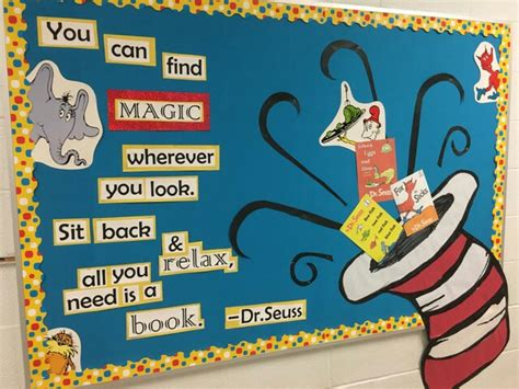 reading class themes dr seuss read across america bulletin boards