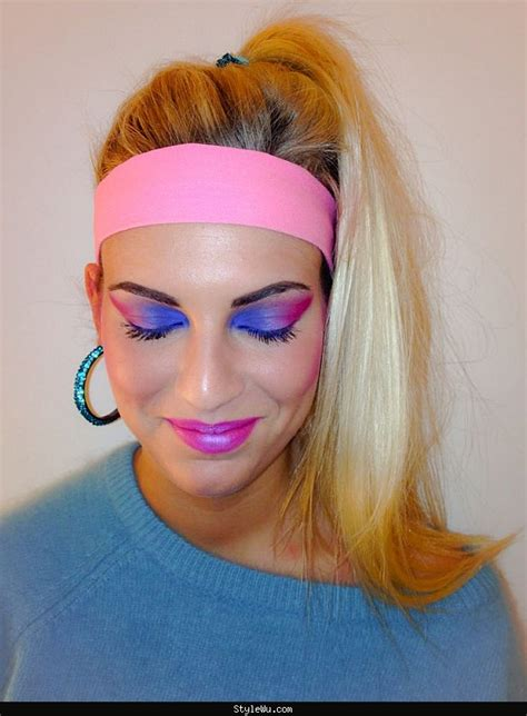 Easy 80s Hairstyles by 80s Makeup On 80s Hairstyles 80s Hair And