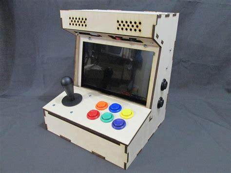 raspberry pi arcade cabinet kit diy arcade cabinet kits more porta pi arcade 10 quot hd