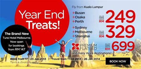 airasia year end offer sydney malaysia airport klia2 info