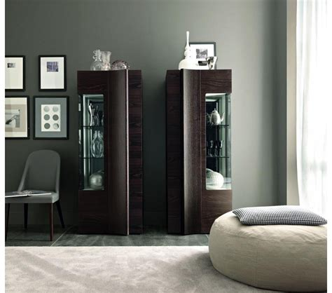 Modern Dining Room Display Units Dreamfurniture Armonia Modern Display Cabinet