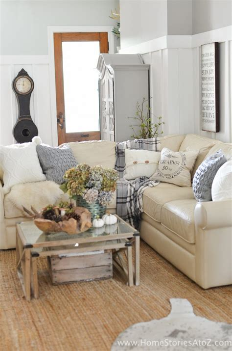 Diy Home Decor Ideas Living Room by Diy Home Decor Fall Home Tour Home Stories A To Z