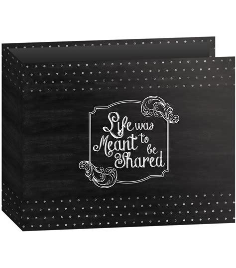 Carla Craft Ring Binding System 12 Hi Store pioneer 3 ring shared binder chalkboard album jo
