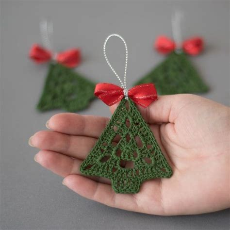 crochet christmas ornament crochet by sevismagicalstitches