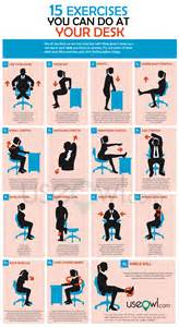 exercise desk chair 15 exercises you can do at desk in office useowl