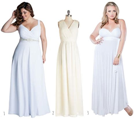 simple wedding dresses for plus size simple plus size wedding dresses