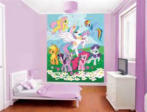 my little pony wall mural childrens wallpaper murals for girls and boys bedrooms