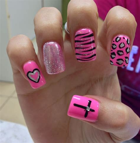 x pattern nails annie s nails design nail art pinterest naglar