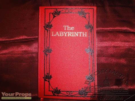 pictures from the book labyrinth labyrinth book replica prop