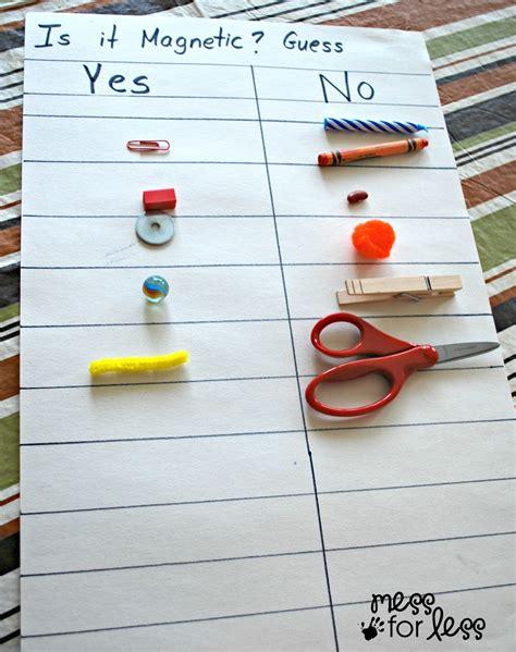 kindergarten activities magnets preschool science magnet exploration preschool science