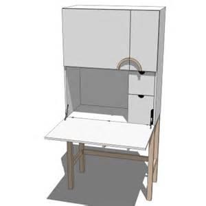 ikea cyril computer cabinet 3d model formfonts 3d models