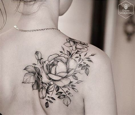 tattoo placement and body flow 17 best ideas about black rose tattoos on pinterest