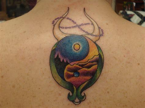 taurus tattoo taurus yin yang picture