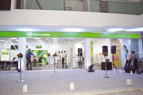 consultar banco popular nueva sucursal banco popular en la avenida libertador