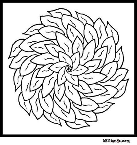flower mandala coloring pages printable flower mandalas to print images