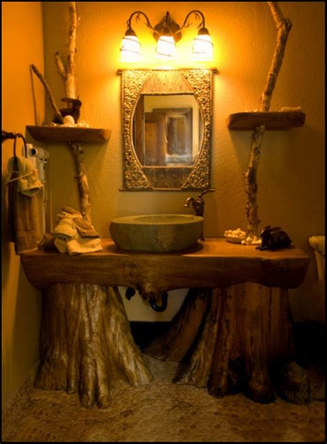 rustic sinks bathroom the growing popularity of rustic bathroom vanities home