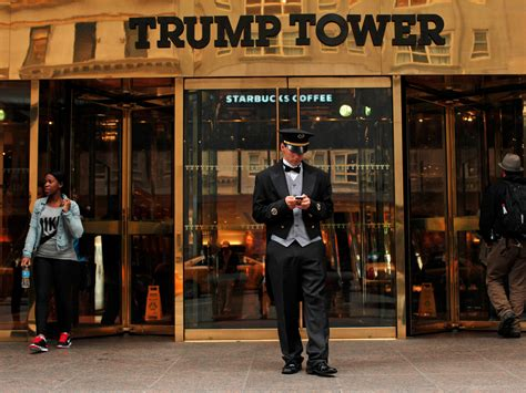 trump tower a tower of solid gold by kristacher donald trump s properties and businesses business insider