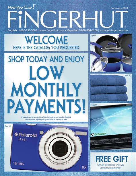 Fingerhut Sweepstakes - free catalog request