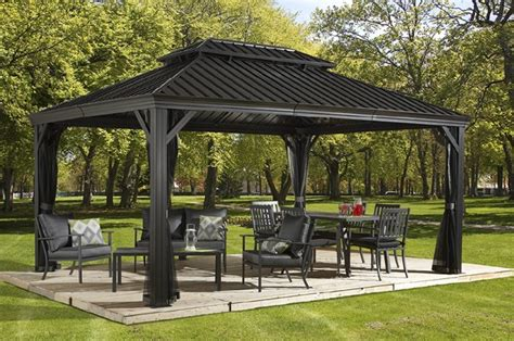 Messina   Hard Top Gazebos   Collections   Sojag