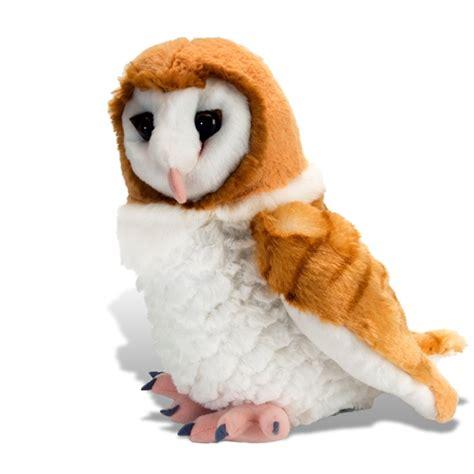 owl stuffed animal cuddlekins barn owl stuffed animal by wild republic
