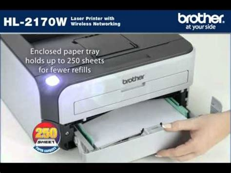 resetting brother hl 2170w how to print test page on brother hl 2170w with pictures