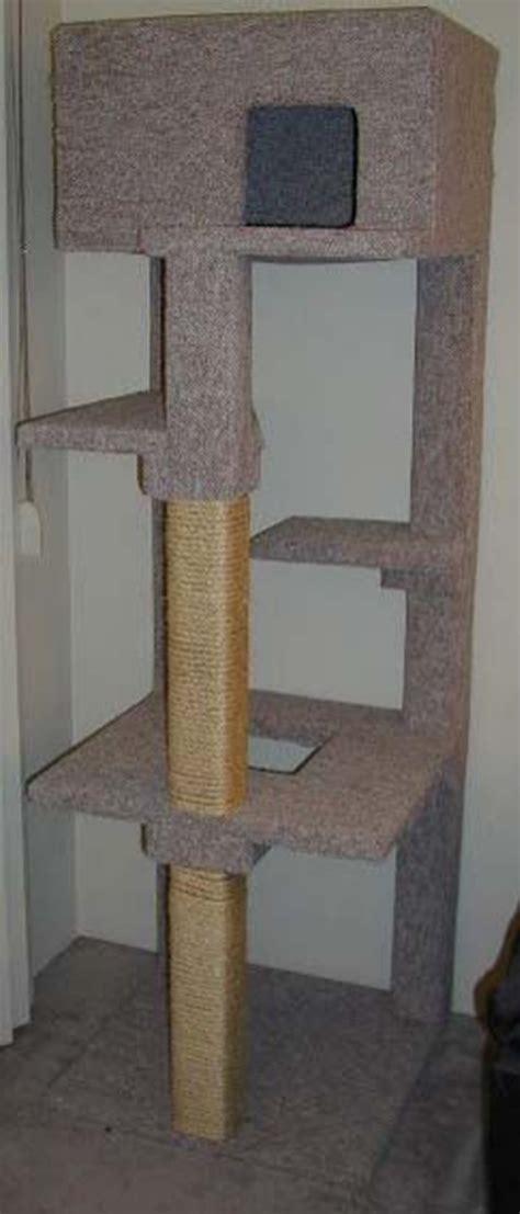 diy woodworking plans  build  cat tree  cat