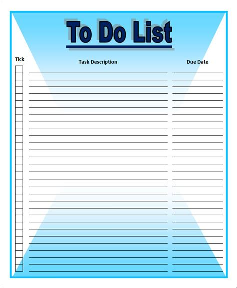 to do list template to do list template 16 free documents in word