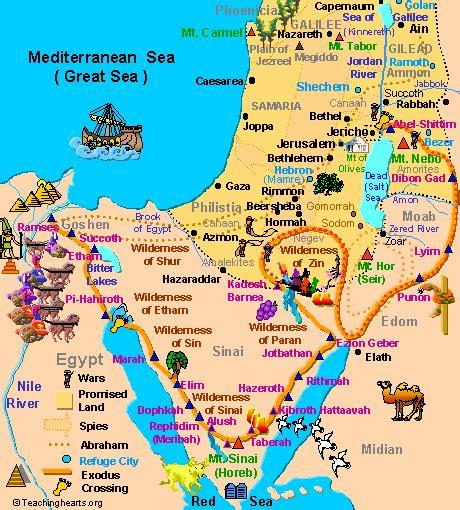 historia bblica del antiguo y nuevo testamento mapas biblicos del antiguo y nuevo testamento el 201 xodo