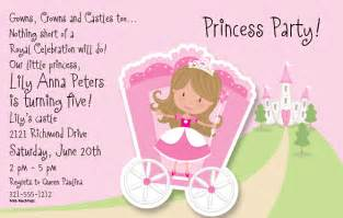 princess themed invitation template princess invitations template best template collection