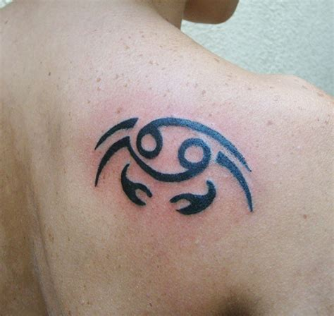 cancer zodiac tattoos for men cancer zodiac design ideas for and