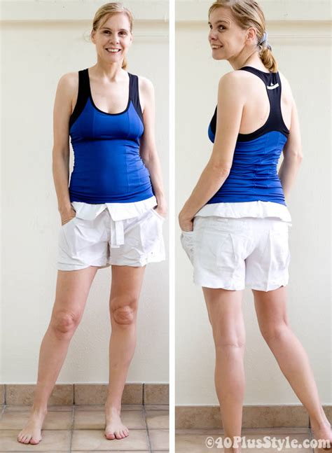 pictures of elderly women wearing shorts tastefully making yoga more fun with fashionable yoga clothes for women